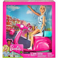 Barbie Scooter and Doll